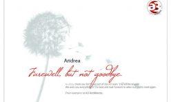 A3 Architects Farewell Card